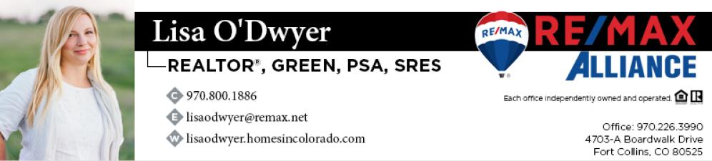 Lisa O'Dwyer Realtor Fort Collins CO